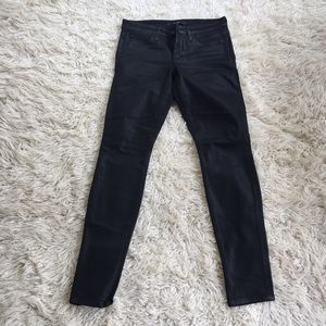 Joe's Jeans Coated Skinny Black
